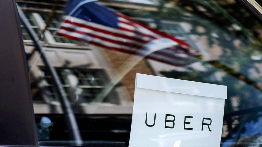 Fox Business Briefs: Uber drivers nationwide will be blocked from accepting new rides after working for 12 hours straight.