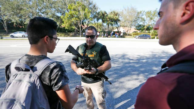 When there's an armed gunman in a school, you want a warrior: Sutton