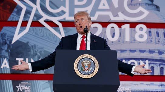 Trump touts strong economy, stock market at CPAC
