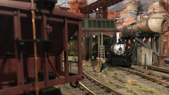 Strange Inheritance: Million dollar train set