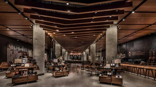 Starbucks opens high-end Reserve coffee bar in Seattle