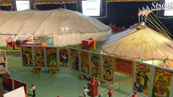 Strange Inheritance host Jamie Colby discusses the upcoming episode where a woman inherits 67,000 pieces of a hand-carved miniature circus.