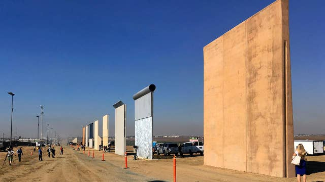 Trump to visit border wall prototypes in California