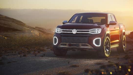 Volkswagen surprises New York Auto show with pickup truck