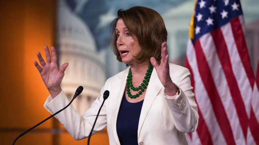 WMAL radio host Larry O'Connor on House Minority Leader Nancy Pelosi's border wall comments and the suit by the illegal alien who killed Kate Steinle, alleging vindictive prosecution.