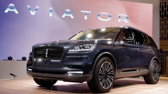 Lincoln Aviator SUV debuts at NY auto show