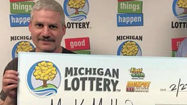 Man wins lottery 3 times in 1 day