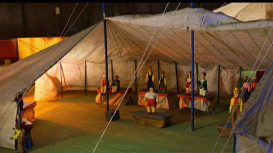 Woman inherits hand-carved miniature circus