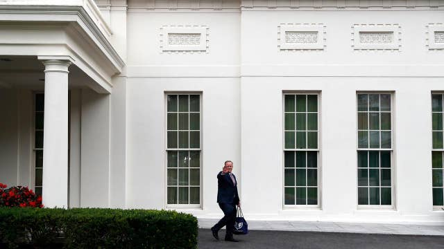 Sean Spicer weighs in on White House shake-ups