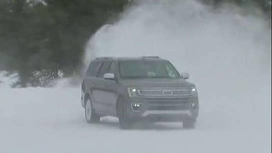 Testing Ford vehicles in winter weather