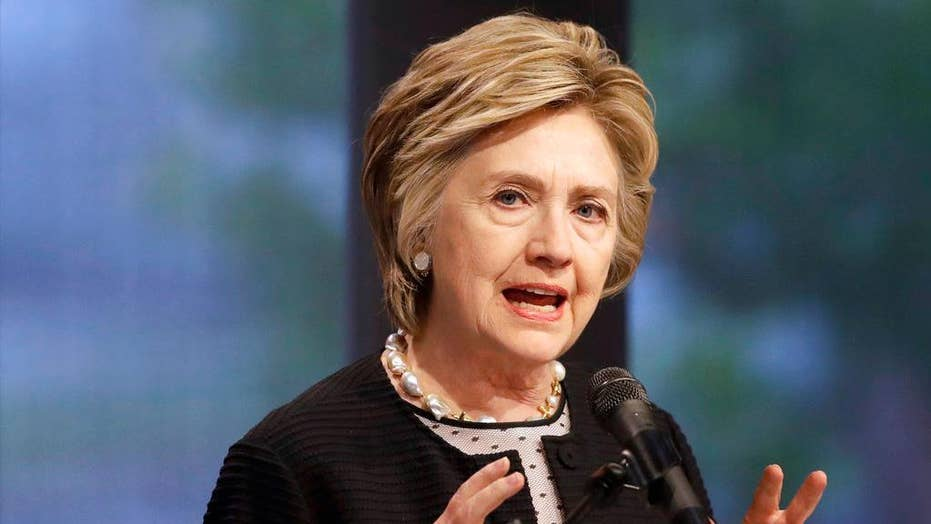 Hillary Clinton takes aim at media for coverage of her 2016 campaign