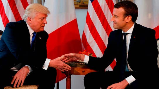 Can Macron convince Trump to exempt European Union from tariffs?