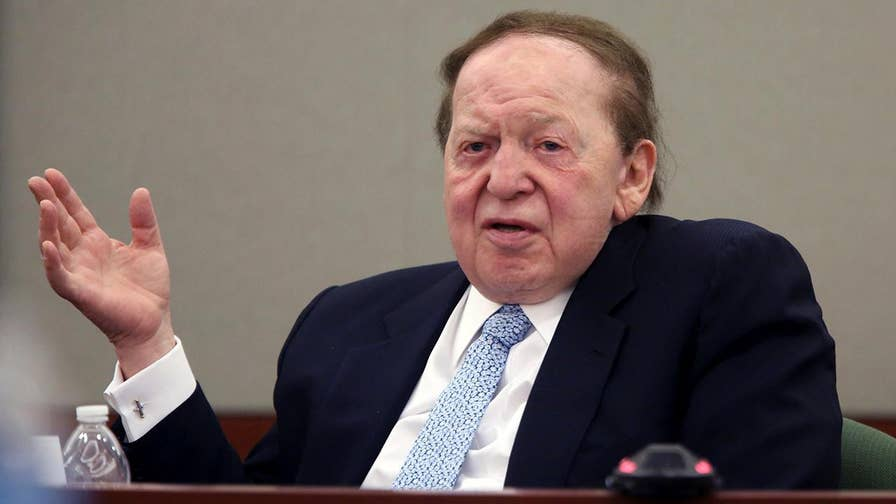 FBN's Charlie Gasparino discusses how billionaires Sheldon Adelson and Steve Cohen have pulled back on their donations to the Republican Party.