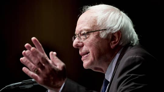 Marc Lotter, former special assistant to President Trump, on Sen. Bernie Sanders's (I-Vt.) proposal for the federal government to guarantee a job paying $15 an hour and health-care benefits to every American worker.