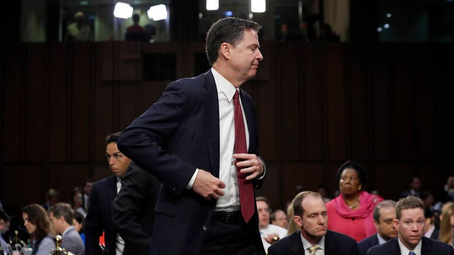 "Former George W. Bush senior staffer Brad Blakeman on how former FBI Director James Comey hints in his new book that there was information about former Attorney General Loretta Lynch that was ""still unknown to the American public."""