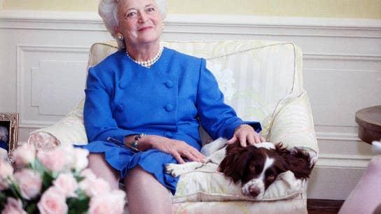 Presidential historian tells stories of Barbara Bush