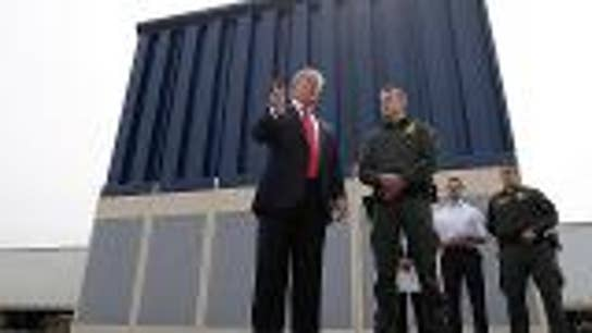Migrant caravan camping out at U.S. border