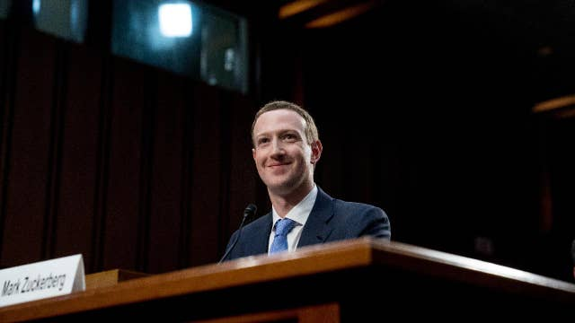Zuckerberg grilled on Capitol Hill