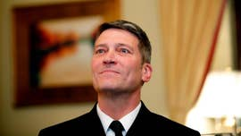 "President Trump said Tuesday that his embattled nominee for Veterans Affairs secretary will be ""making a decision"" soon about whether to continue to seek the position, saying he stands by Dr. Ronny Jackson no matter what but, ""If I were him … I wouldn't do it."""