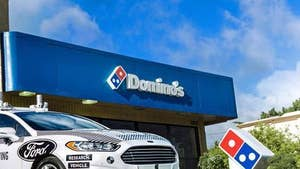 FBN's Liz MacDonald on Domino's Pizza now accepting orders to places that don't have traditional street addresses.