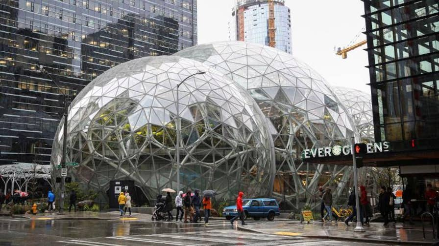"FBN's Stuart Varney on Seattle's city council passing the new tax labeled the ""Amazon tax."""