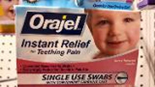 FDA's teething medication warning