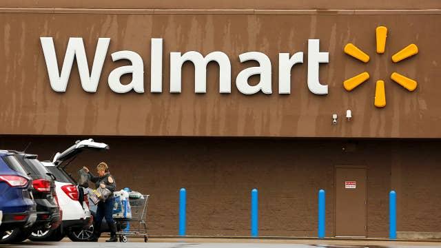 Walmart gaining on Amazon