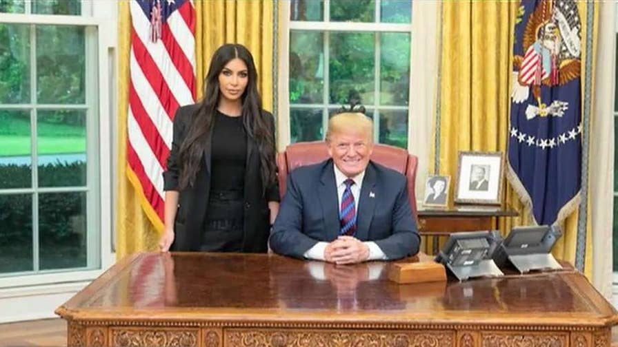 Fox News senior judicial analyst Judge Andrew Napolitano on Kim Kardashian meeting with President Trump to discuss prison reform and to push for a pardon for a low-level drug offender Alice Marie Johnson.