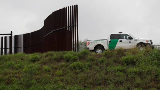 Trump's border wall push