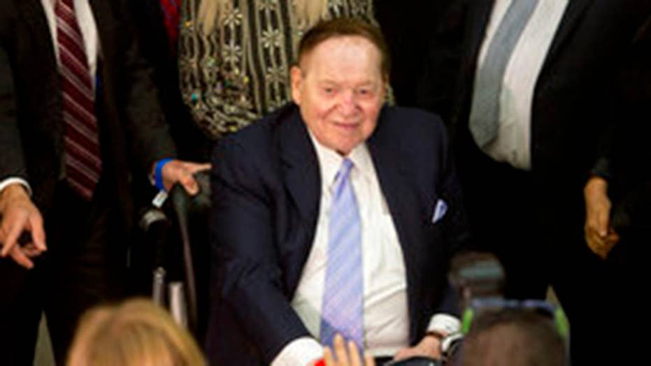 GOP leaders made big push for Sheldon Adelson donation: Gasparino