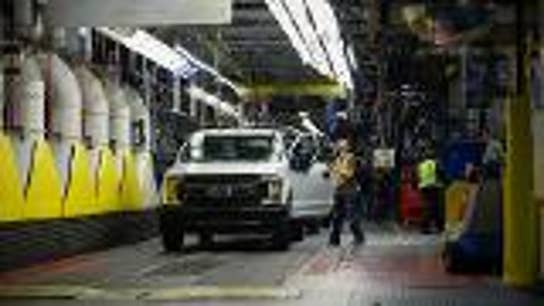 Ford restarts production of its best-selling F-150