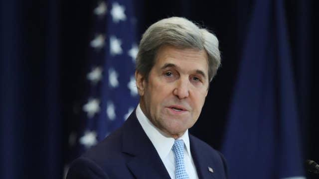 How should Trump handle John Kerry's 'illegal shadow diplomacy'?