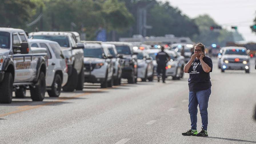 FBN's Kristina Partsinevelos discusses the Santa Fe High School shooting.