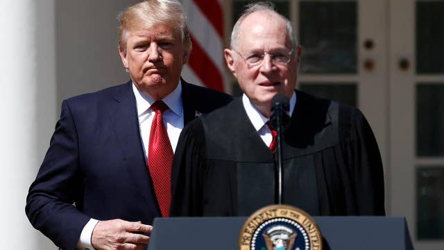 White House releases Justice Kennedy's resignation letter
