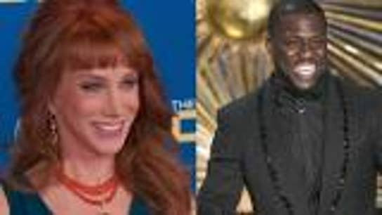 Kathy Griffin attacks Kevin Hart for not  going after Trump