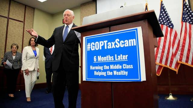 House Democrats slam GOP tax law amid six-month anniversary