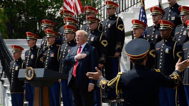 Trump: We will always stand for the national anthem ...