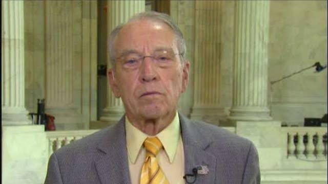 Mueller probe hasn't shown collusion: Sen. Chuck Grassley