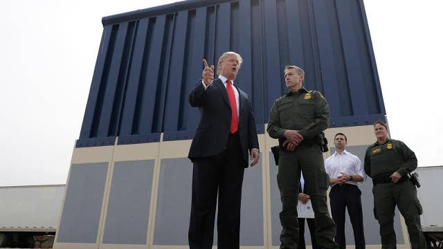 Rep. Desantis: Trump's wall will take years and years
