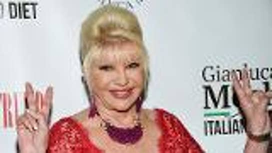 Ivana Trump brings new diet that promotes comfort food to US