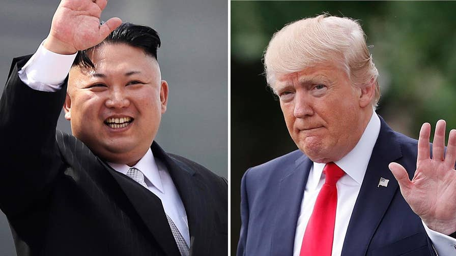 President Trump on the upcoming summit with North Korea.