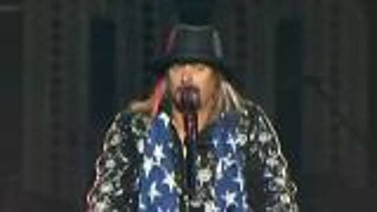 Kid Rock hits the campaign trail for Senate candidate in Michigan