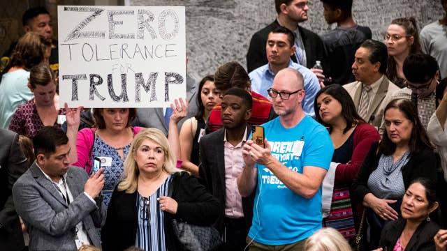 Trump addresses illegal immigration alongside 'angel families'