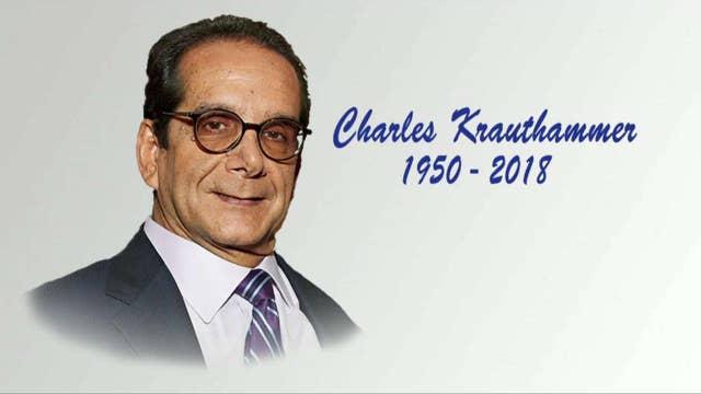 Charles Krauthammer dies at age 68
