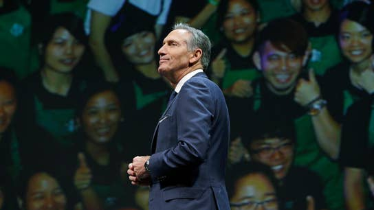 Ex-Starbucks chief Howard Schultz hints at political aspirations