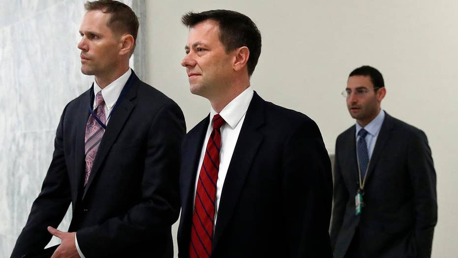 Congress grills FBI's Peter Strzok