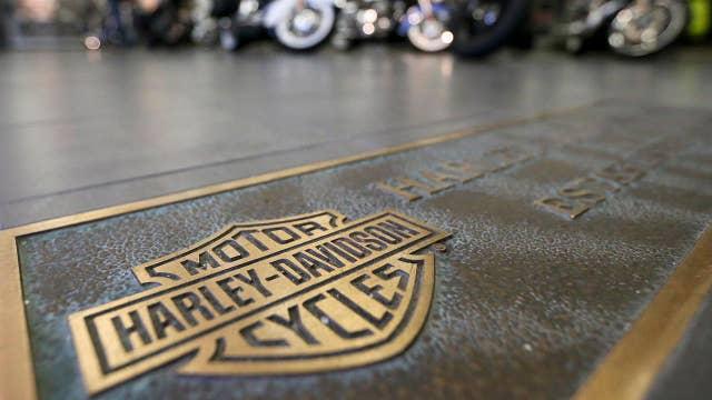 Trump targets Harley-Davidson on Twitter