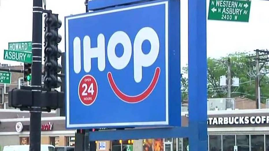 IHOP flips name from pancakes to burgers