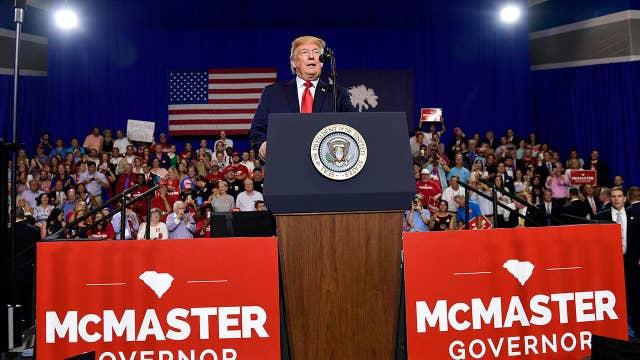 Trump slams Jimmy Fallon, Jimmy Kimmel during South Carolina rally