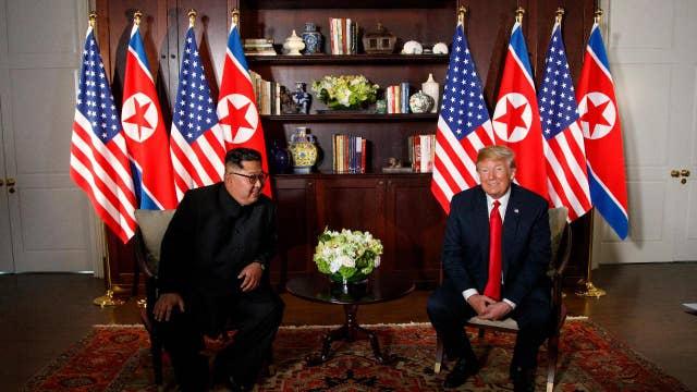 North Korea summit providing Trump political points in midterms?